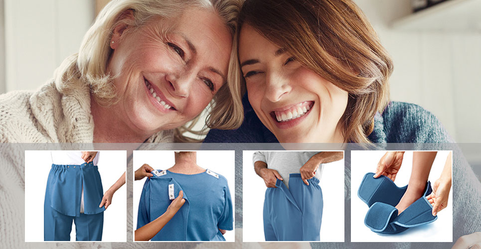 Adaptive clothing for seniors
