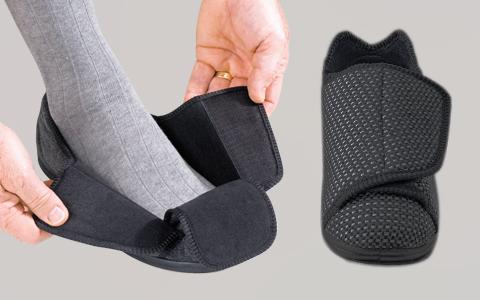 Men's Extra Wide VELCRO Slipper