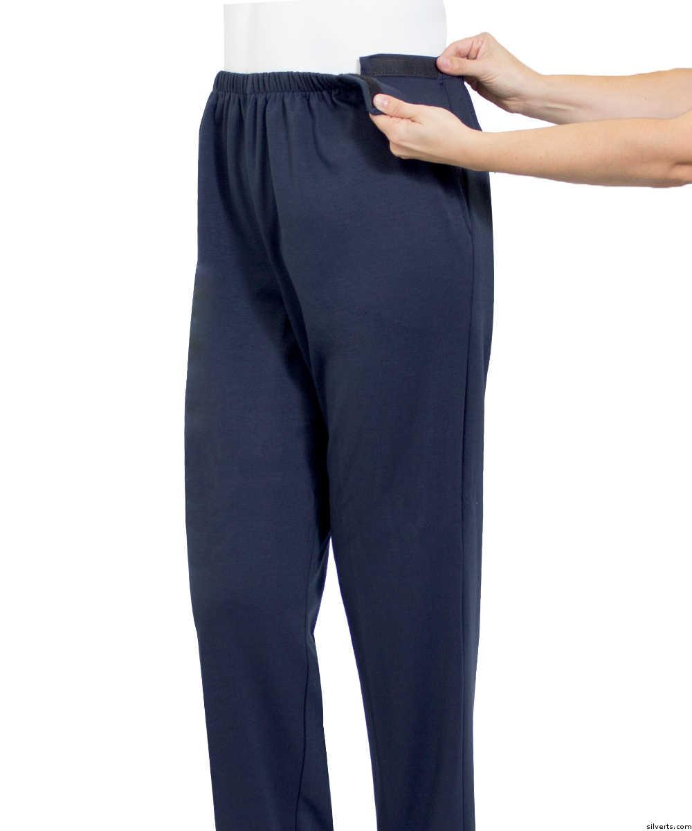 Adaptive open side pants