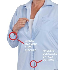 Magnetic Button Shirts