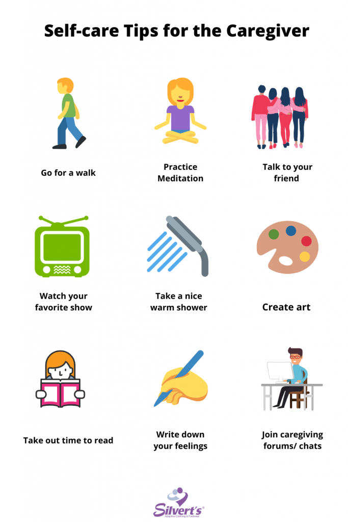 Self Care Tips for the Caregiver