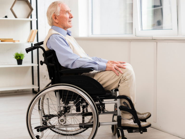 Seniors in isolation